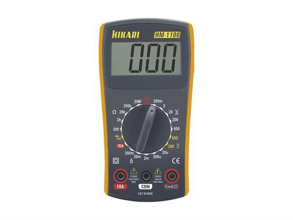MULTIMETRO DIGITAL HM-1100 HIKARI