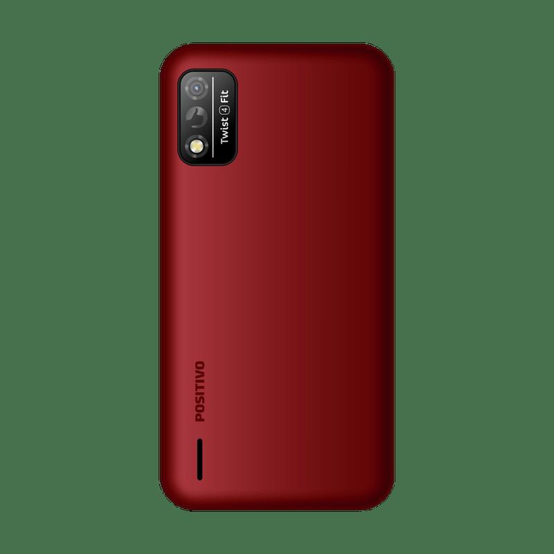 SMARTPHONE TWIST 4 FIT 32GB DUAL CHIP VERMELHO S509N POSITIVO