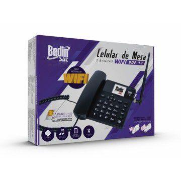 TELEFONE CELULAR DE MESA 3G C/ BLUETOOH BDF-12