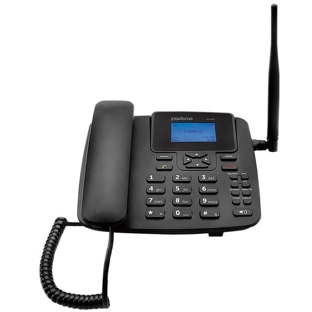 TELEFONE CELULAR DE MESA GSM  CF-4201