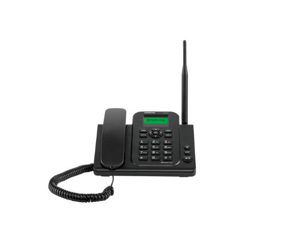 TELEFONE RURAL DE MESA DUAL CHIP 2G CF4202N INTELBRAS