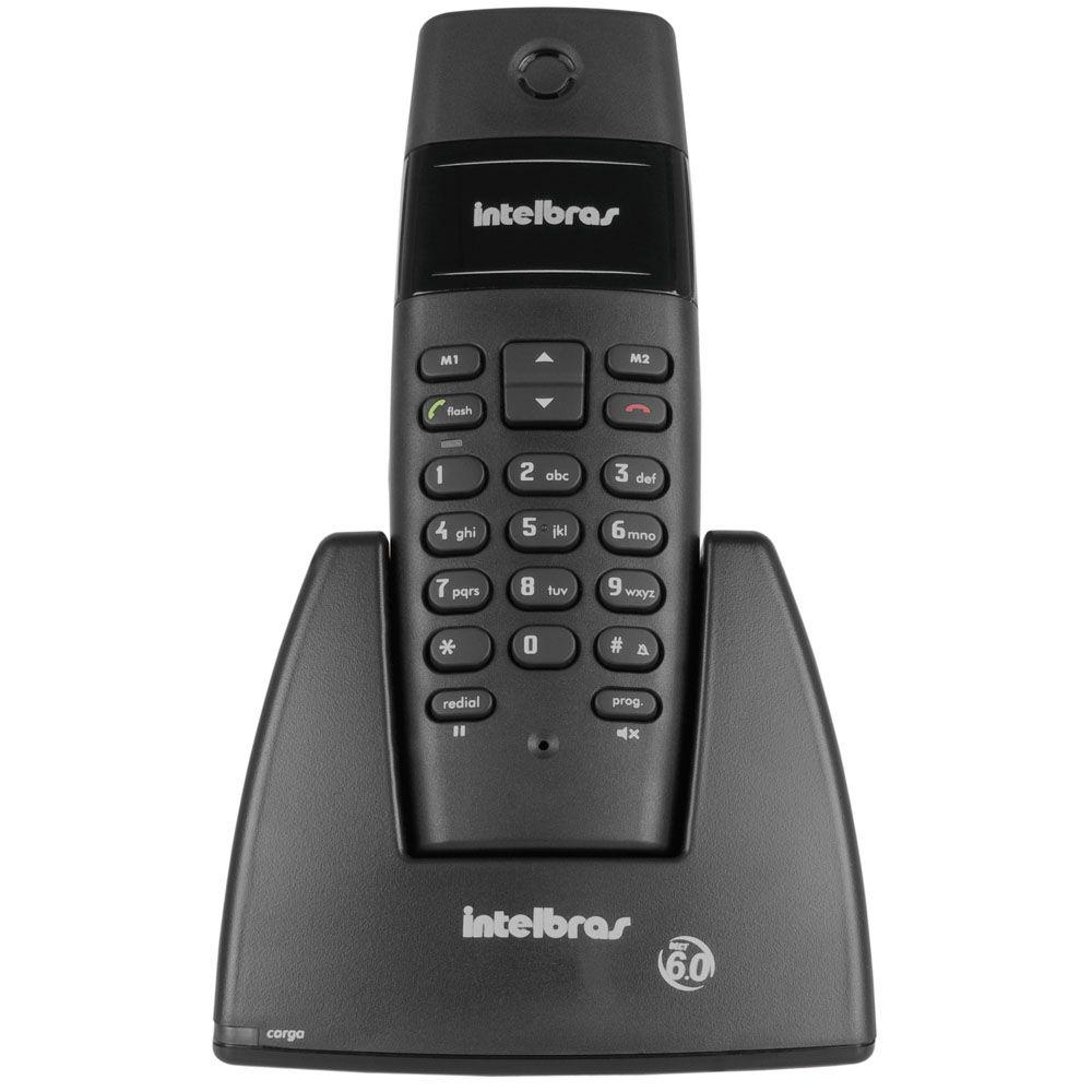 TELEFONE S/FIO PRETO TS-40