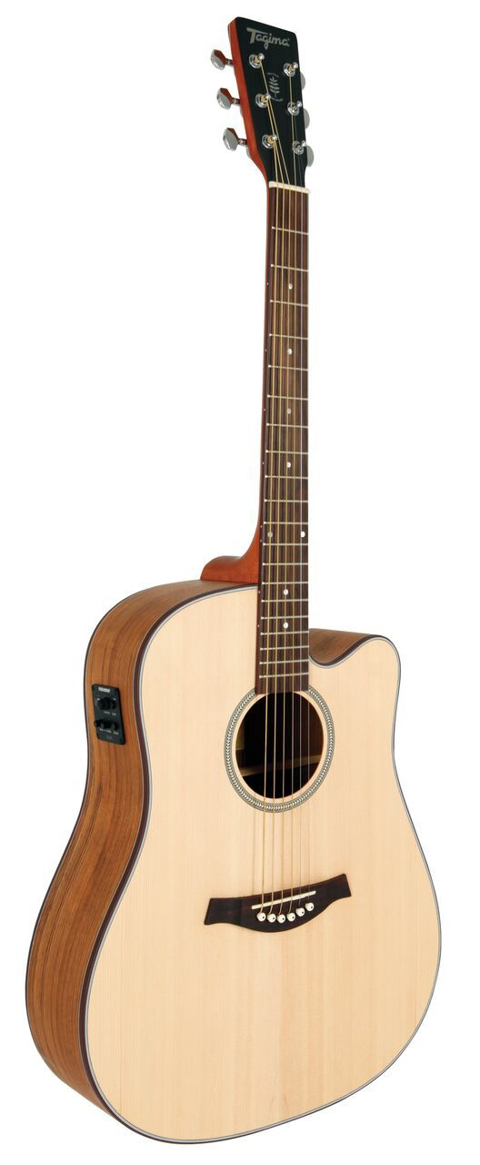 VIOLAO ELETRICO ACO WALNUT TWO FOLK NA TAGIMA