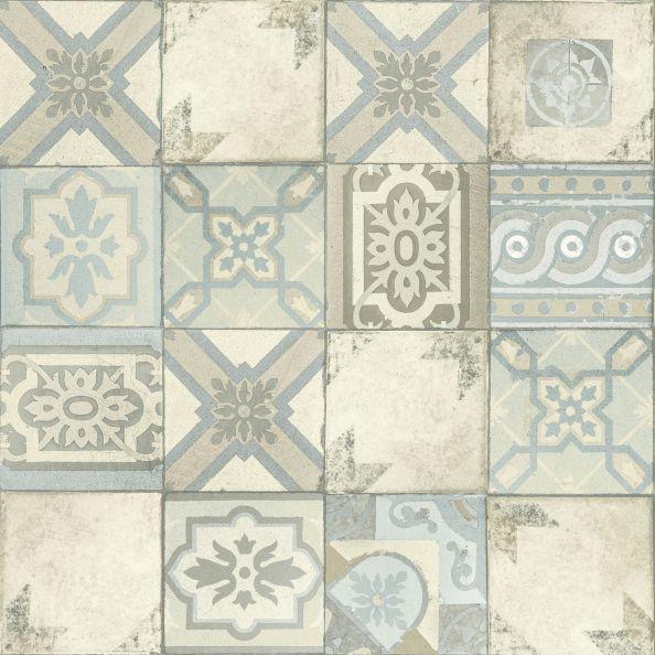 Papel de Parede Azulejos F0CCE3