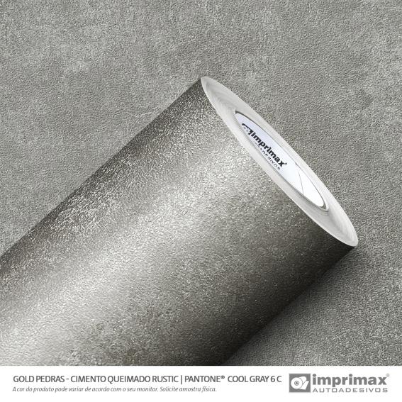 Adesivo Imprimax Gold Pedras Cimento Queimado