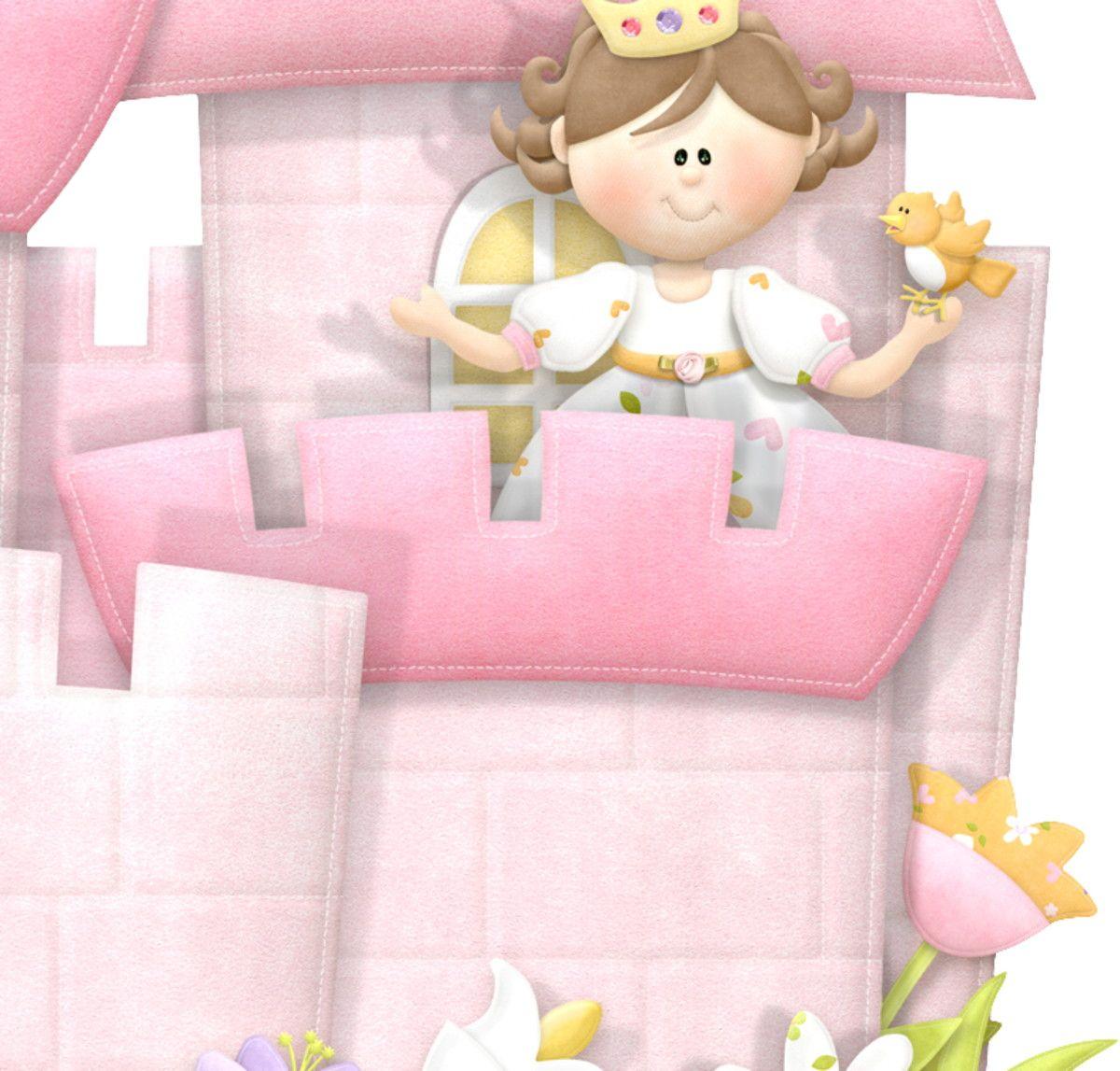 Adesivo de Parede Castelo da Princesa 331DED