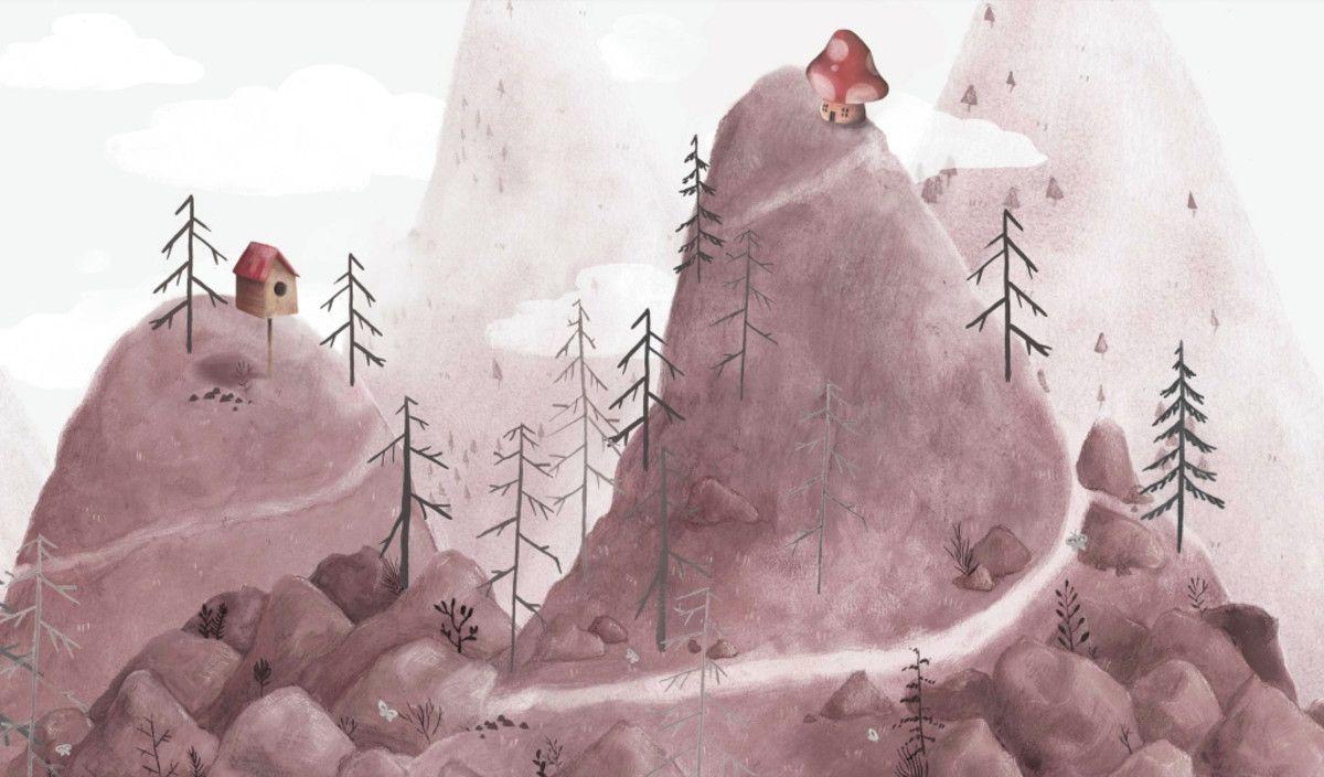 Mural de Parede Montanhas E9D47E