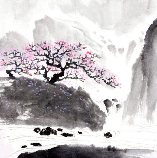 Mural de Parede Árvore Oriental AB3113
