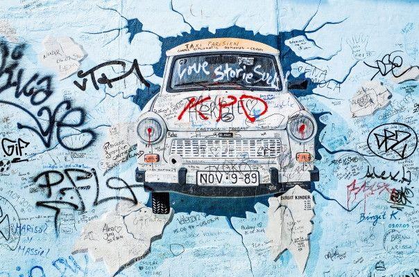 Mural de Parede Muro de Berlim AB3113