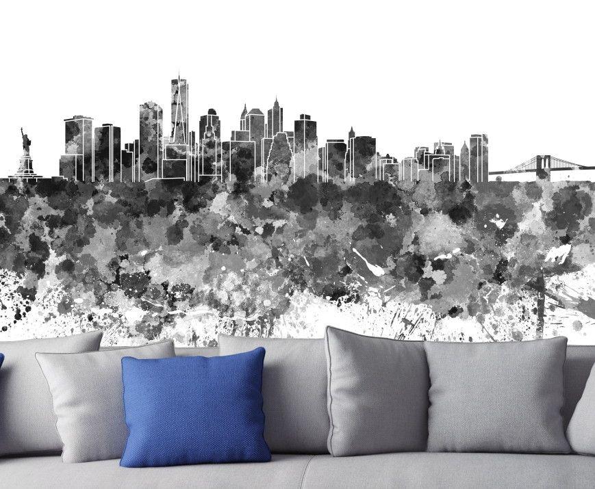 Mural de Parede Cidades Ilustração 6919D9