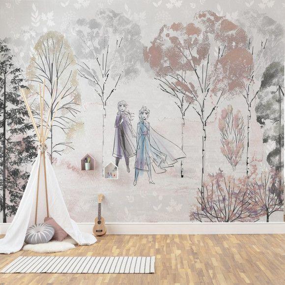 Papel de Parede Floresta Frozen 1161175