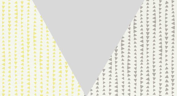 Papel de Parede Geométrico Triângulos 107AF7E