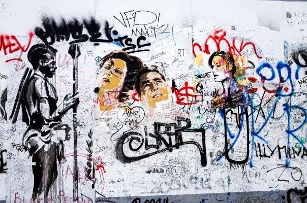 Mural de Parede Muro de Berlim 8559B5