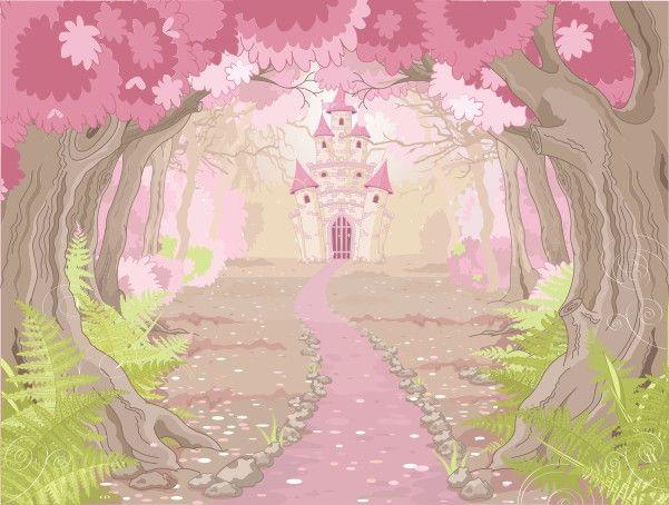 Mural de Parede Castelo Princesa 85592D