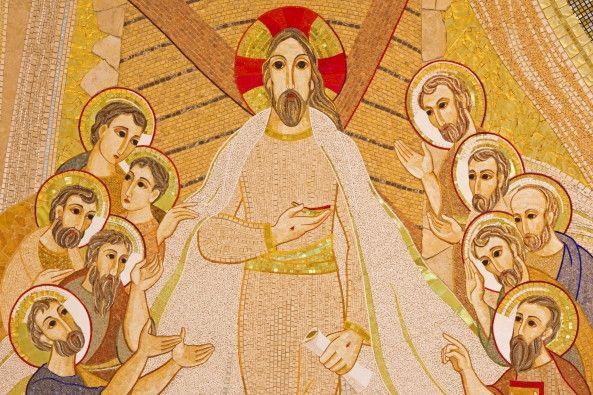 Mural de Parede Religião Arte Jesus 8559DD