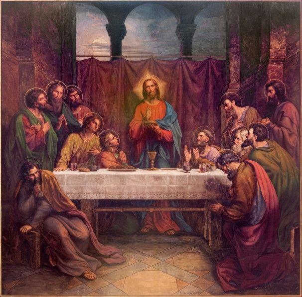 Mural de Parede Religião Jesus Santa Ceia 42D3A1