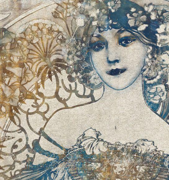 Papel de Parede Madame de Pompadour 105AE50