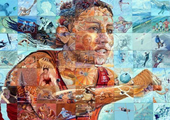 Mural de Parede Esportes 85465E