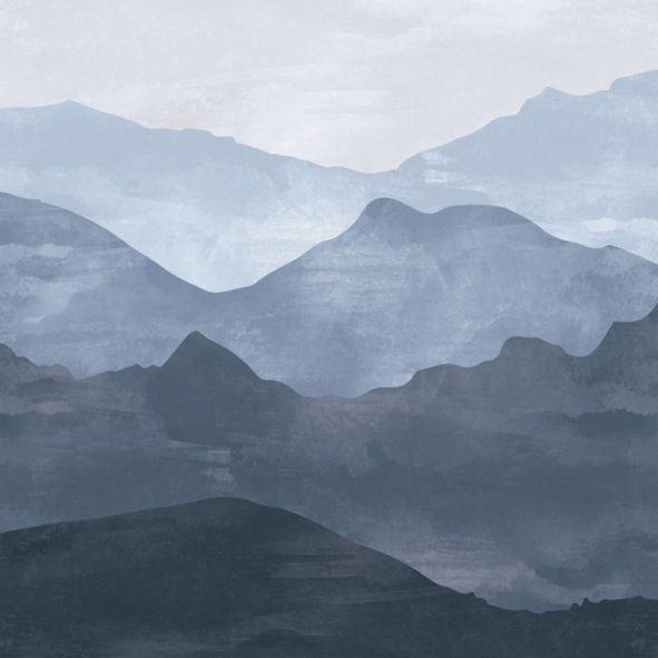 Mural de Parede Montanhas E9EBAE