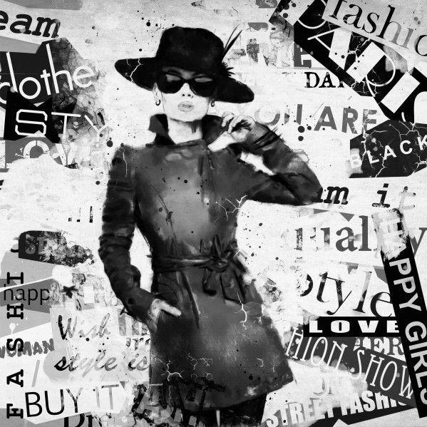 Mural de Parede Moda e Beleza Paris 85571E