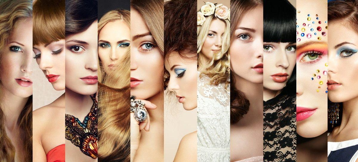 Mural de Parede Mulheres Moda e Beleza 50C7FC