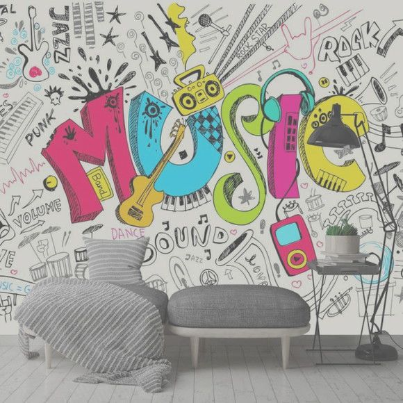 Mural de Parede Música BC0107