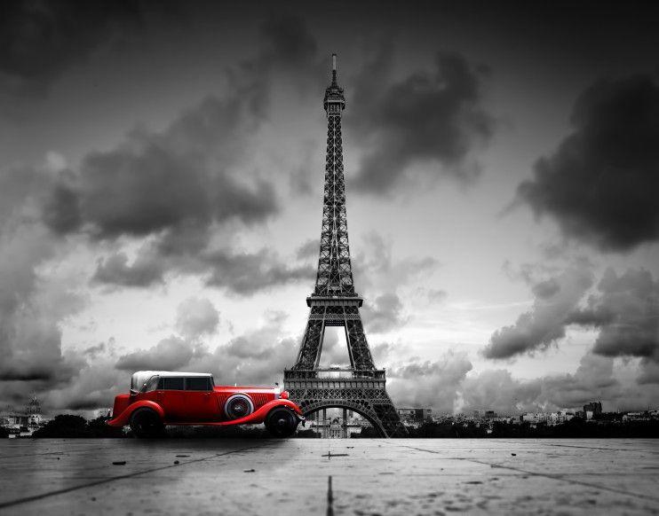Mural de Parede Paris Torre Eiffel 56C3AA