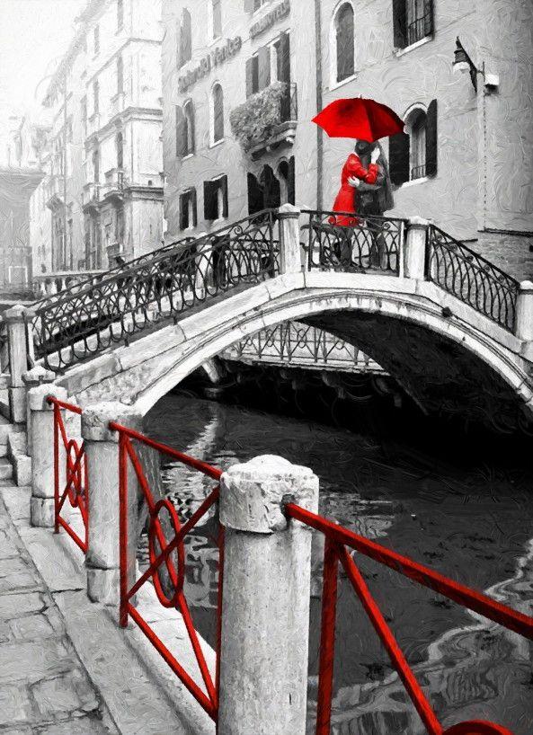 Mural de Parede Amor em Veneza 85592D
