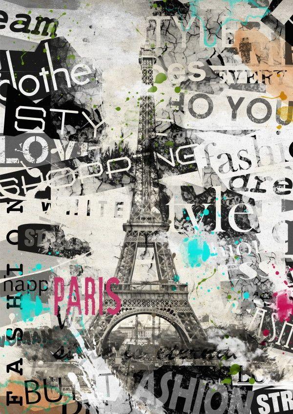 Mural de Parede Paris Torre Eiffel 85314C