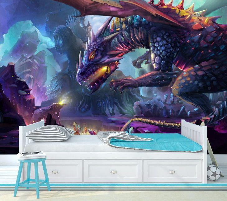 Mural de Parede Dragão AB3732