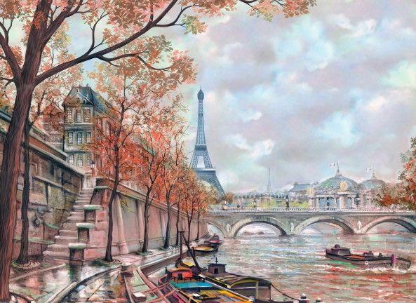 Mural de Parede Paris 855A35