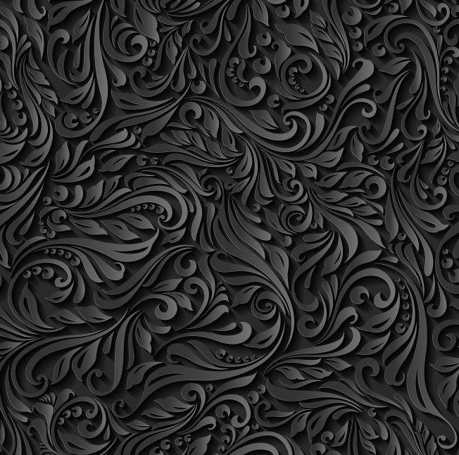 Papel de Parede Videira Floral Efeito 3D 67709B