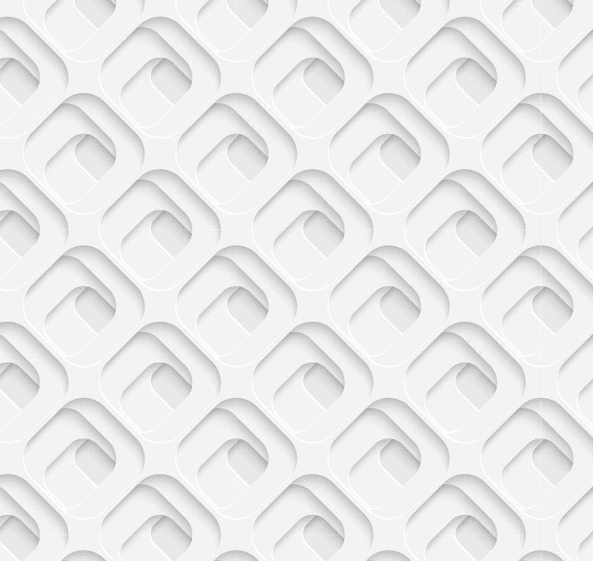 Papel de Parede Geométrico Efeito 3D 4A9A91