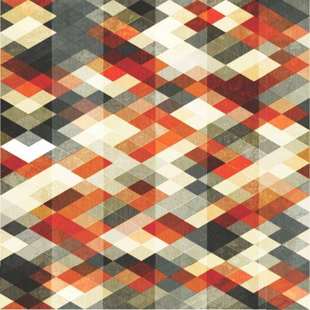 Papel de Parede Geométrico Abstrato 43E361