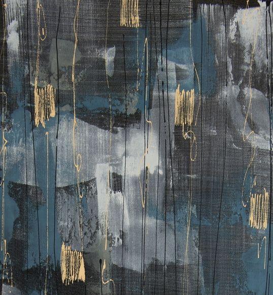 Papel de Parede Abstrato 84DA9D