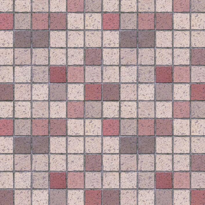 Papel de Parede Pastilhas 68CEA7