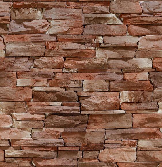 Papel de Parede Pedras Naturais 5B868B