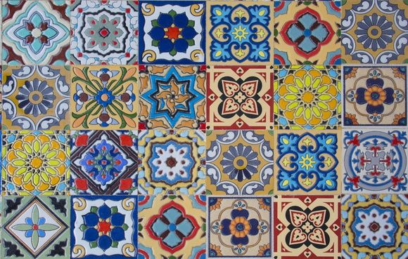 Papel de Parede Azulejos 511118