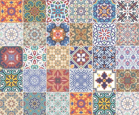 Papel de Parede Azulejos 4DCB8E