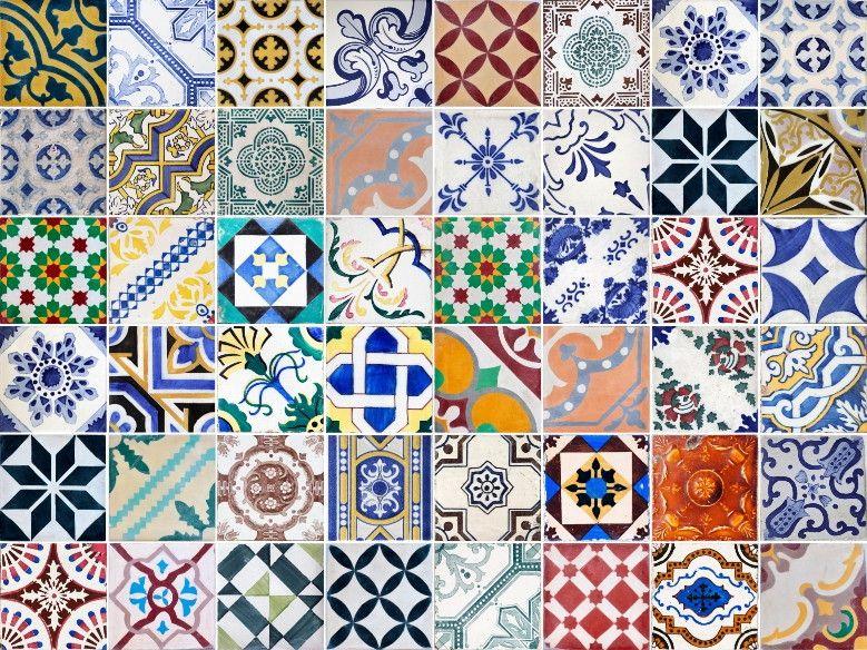 Papel de Parede Azulejos 43C606