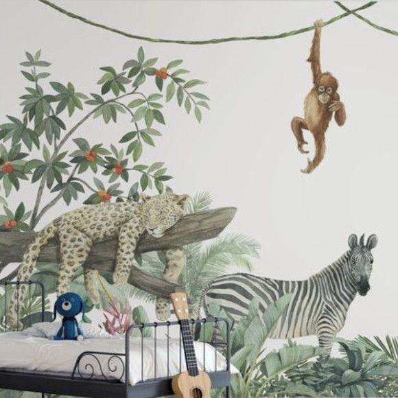 Papel de Parede Amigos Animais Safari 1267ED4