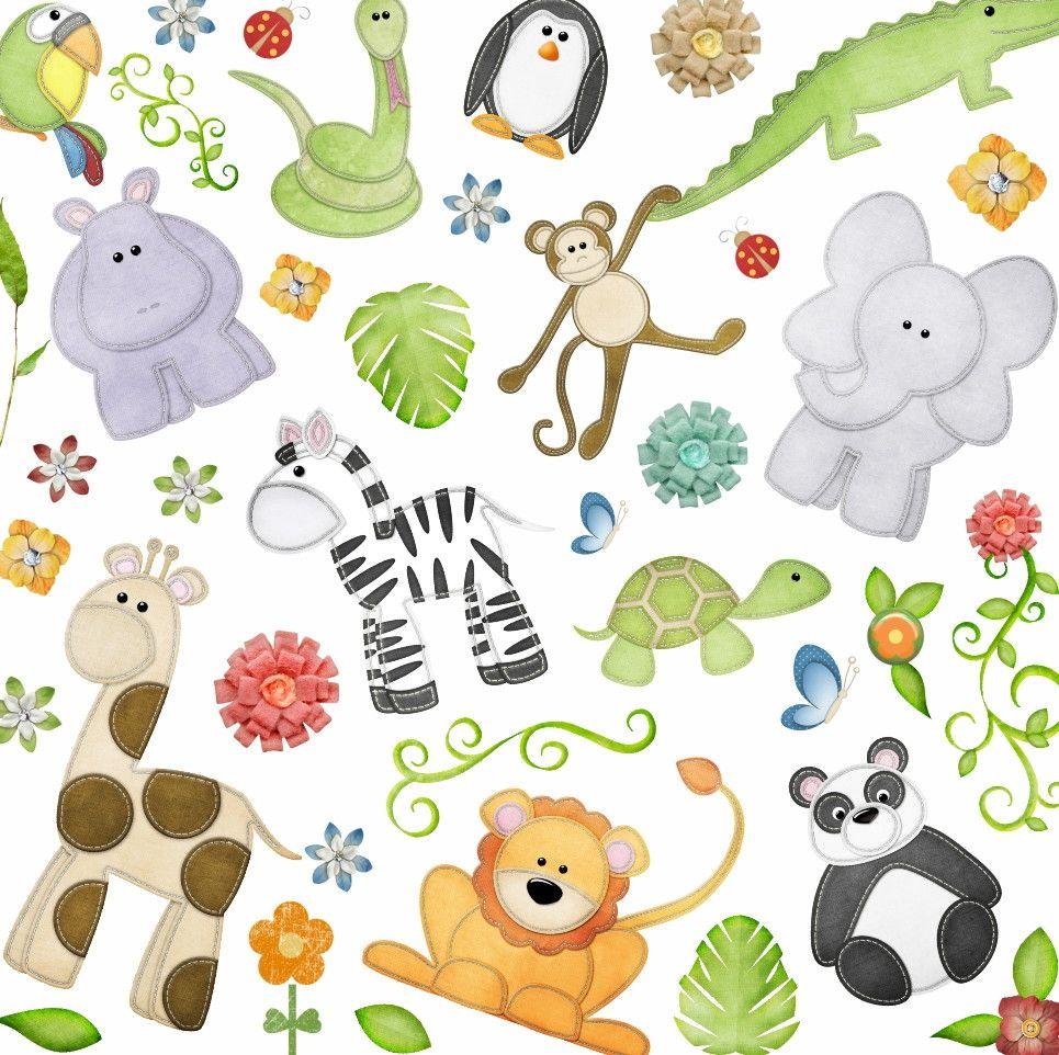 Papel de Parede Animais Safari 3CEB70