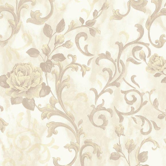 Papel de Parede Arabesco Floral ADcorista E3FB71