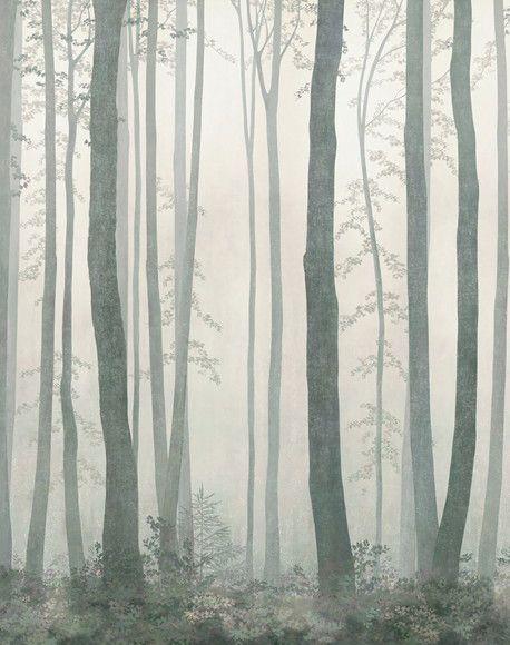 Papel de Parede Árvores Floresta 125C2FF