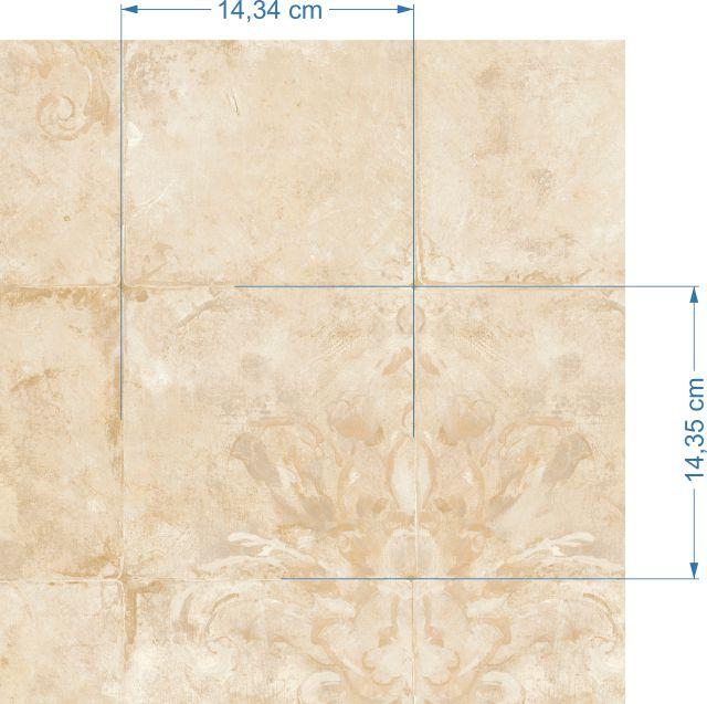 Papel de Parede Azulejos Rústico FE0207
