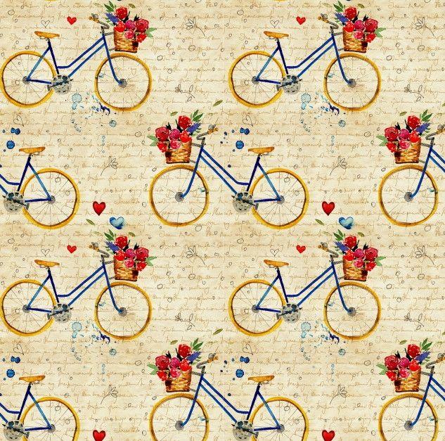 Papel de Parede Bicicletas 66EA4B