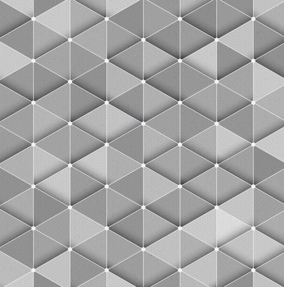 Papel de Parede Geométrico Triângulos 695BBF