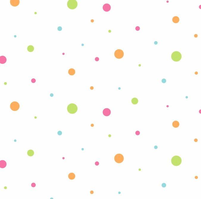 Papel de Parede Bolinhas Coloridas ABE3C9