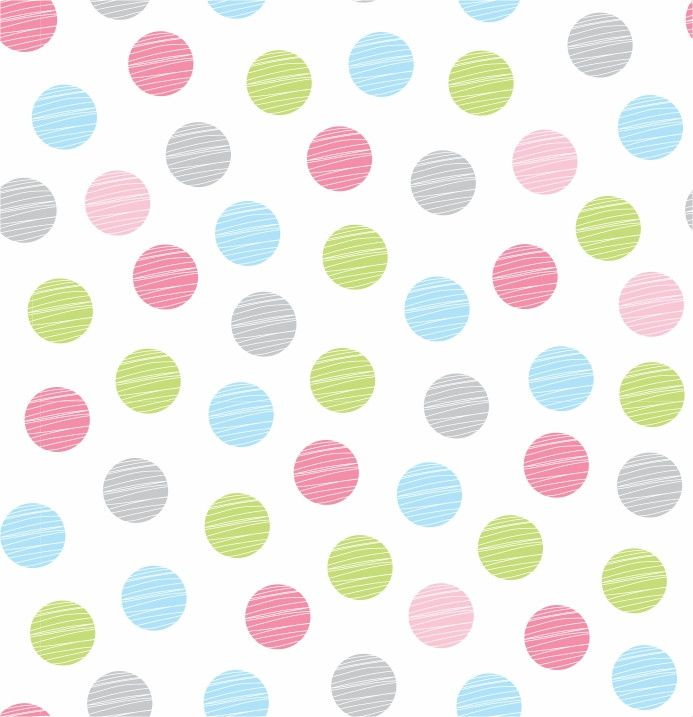 Papel de Parede Bolinhas Coloridas 4DE60B
