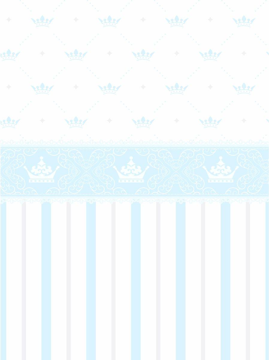 Papel de Parede Coroas, Listras e Faixa 5FB3DA